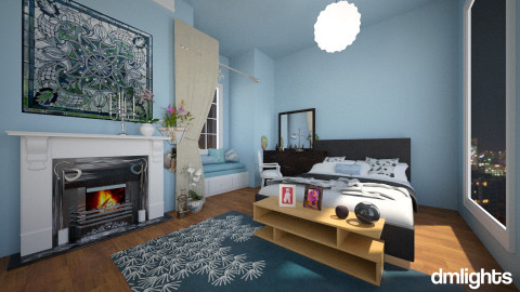 Another Bedroom - Modern - Bedroom - by DMLights-user-1024672