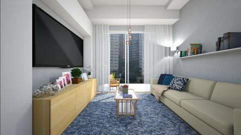 Sala pequena - Living room - by Roberta Coelho