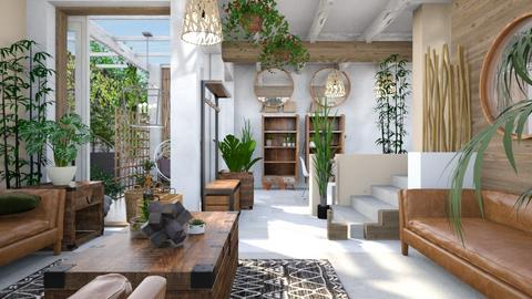 Urban Jungle - Eclectic - Living room - by anekyen