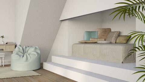 Simple Bed Nook - Minimal - Bedroom - by millerfam