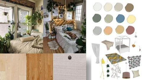 Aesthetic Board Bedroom - by TheSeaHorse
