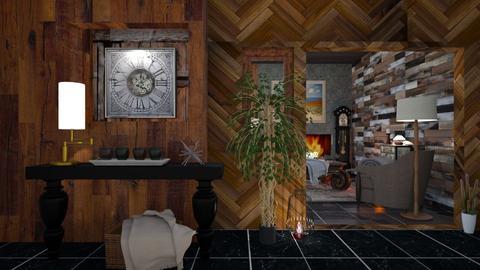 Clock Room - Living room - by Wildflowers