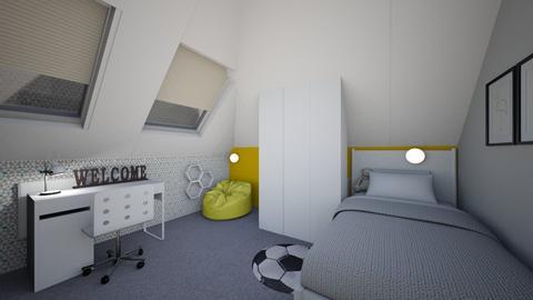 Mateusz - Kids room - by martaleske