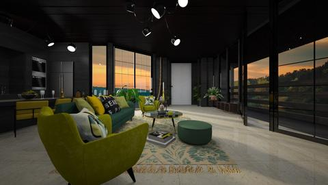 Boho - Living room - by Amorum X