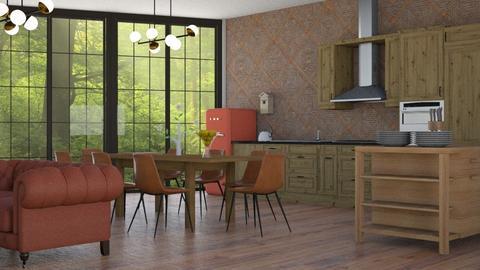 IP Artisan Kitchen - Kitchen - by ClaraBart