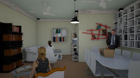 MA Library 09 - Minimal - Office - by fifi sefriyani