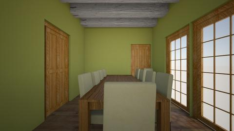 lounge diner - Rustic - Dining room - by nicki1307