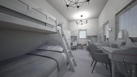 pokoj blizniaczek - Modern - Kids room - by nikirox0