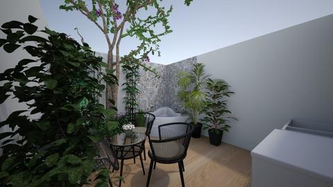 patio - Garden - by luisitalinda