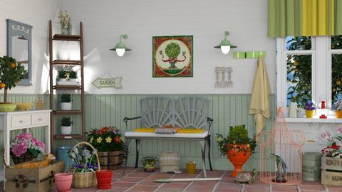 M_ Garden work - Garden - by milyca8