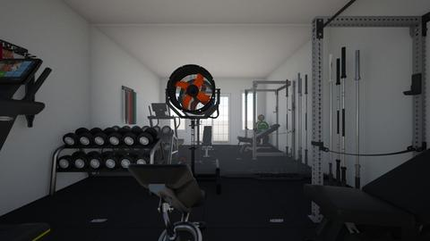 home gym - by ilovepuppies15
