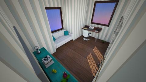 Turquoise office - Retro - Office - by Elda
