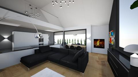 nieuwhuis - Living room - by manuelmessiaen