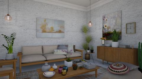pampa - Living room - by sara andrade