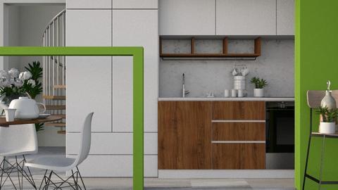 Nook - Modern - Kitchen - by Gurns
