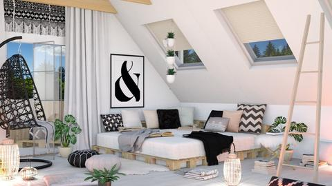 Ampersand - Bedroom - by ArtHousedeco