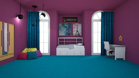 bedroom - by hannah136