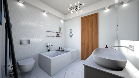 baie 5 ap 3 camere - Modern - Bathroom - by Vasile Bianca Rozalia
