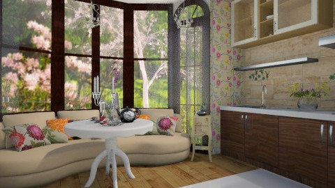 Flower - Kitchen - by DanielamFa