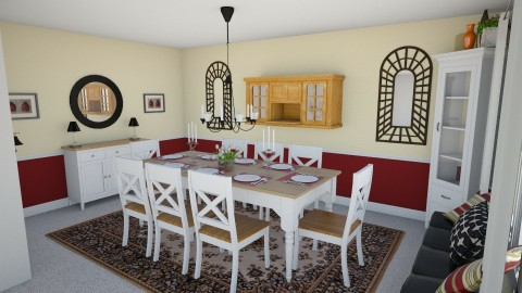 Dining Area 3c - Country - Dining room - by heyjoshday