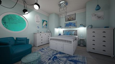 Nautical Bedroom - Bedroom - by laurenpoisner