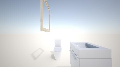 small bathroom - Modern - Bathroom - by IbrahimAdel