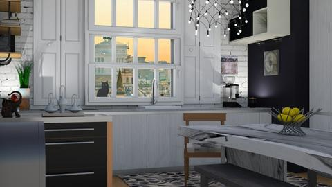 Modern bohemian - Modern - Kitchen - by augustmoon