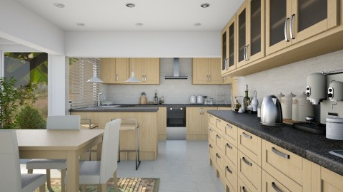 Nifty Kitchen - Kitchen - by JayPH