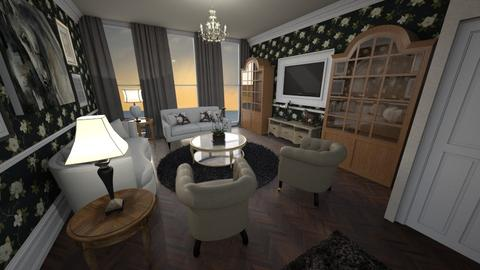 Round and Neutral - Classic - Living room - by Pirschjaeger