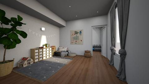 Play Area - Living room - by Sarah Anjuli