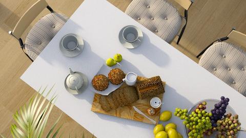 Breakfast Spread - Modern - Dining room - by millerfam