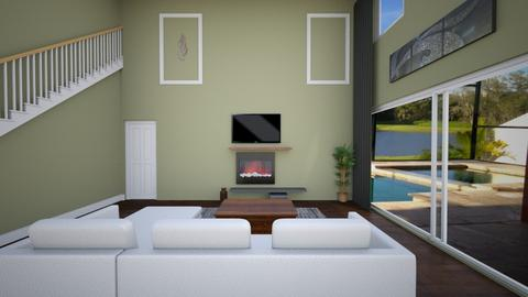 LIVING ROOM OPTION 2 - Living room - by debster77