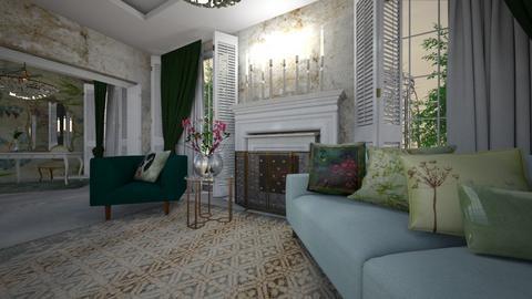 viejo - Living room - by ana111
