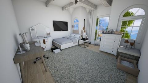 Land Of White - Bedroom - by Jasmine Marquez_842