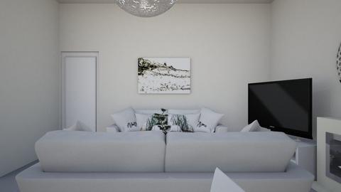 Living 4 - Minimal - Living room - by nramsamy1994