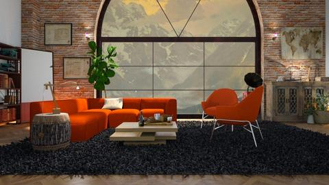 Wide_View - Living room - by ZuzanaDesign
