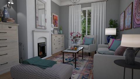 Terrace - Living room - by Tuija