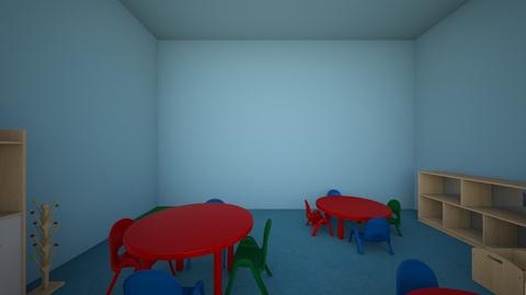 pre school - Kids room - by cgillman123
