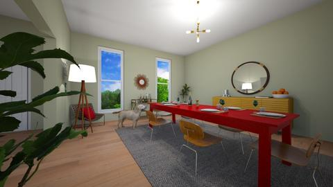 dining room dreams - by Caroline Porter_732