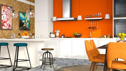 Eclectic Kitchen - Kitchen - by millerfam