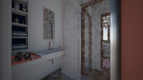 anordinaryflat_bath - by Laurika