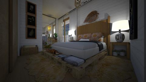 Template room - Bedroom - by Maria Helena_215