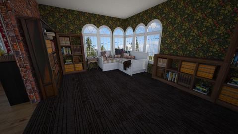 Reading room 2 - by Mia Joami