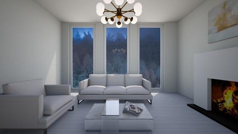 modern - Living room - by paulina perez_572
