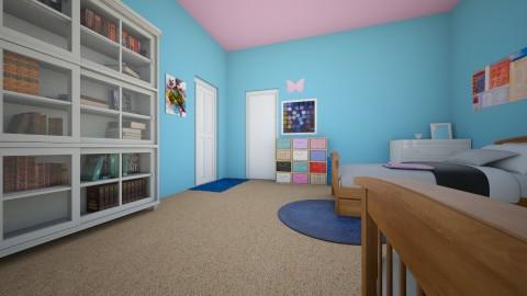 Zanas Room after view 2 - Kids room - by kenzielu