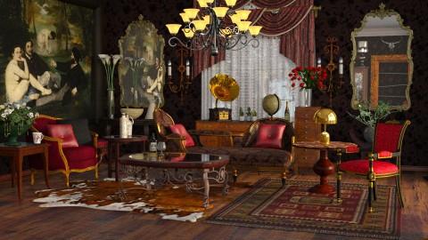 Americana West - Classic - Living room - by anchajaya