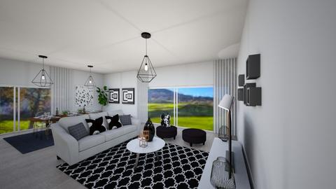 House PT - Living room - by Cristiane Lichotto