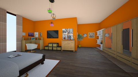 ssf - Minimal - Bedroom - by Ritus13
