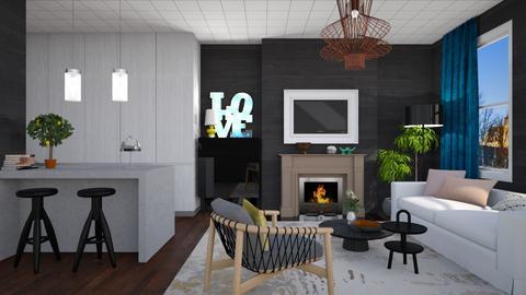 MINOX - Minimal - Living room - by 3rdfloor