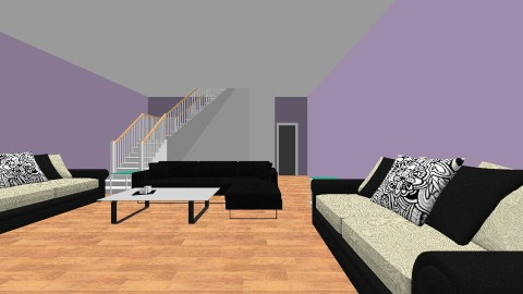 living lounge room - by Marwaxox15